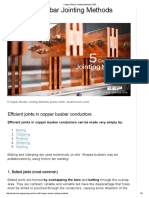 Copper Busbar Jointing Methods _ EEP