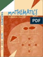 Txt.02 - Std'12 - Mathematics - Part-II