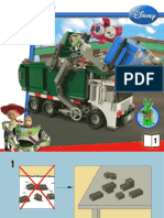 7599 Toy Story Garbage Truck Book 1
