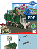7599 Toy Story Garbage Truck Book 2