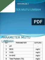 PPL 2 (Parameter Mutu)