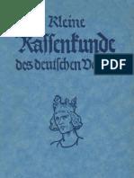 Kleine Rassenkunde Des Deutschen Volkes