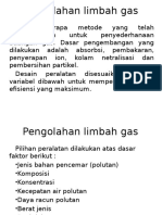 Pengolahan Limbah Gas Edit