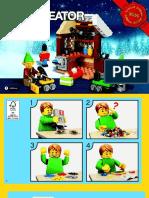 40106 Creator Elf Work Shop Mini