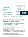 How to install and use Eclipse CDT for C_C++ programming.pdf