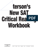 Peterson's Critical Reading Workbook