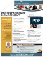 Files & Correspondence Management Course Outline