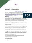General ITIN Information