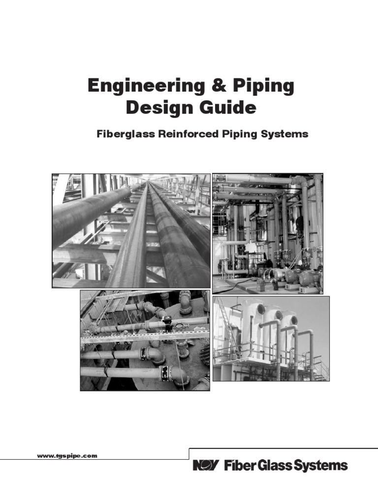 Engineering Piping Design Guide Fiberglass Reinforced Systems Layout Handbook Pictures Reynolds Number Thermal Expansion