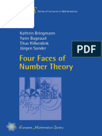 (Ems Series of Lectures in Mathematics) Kathrin Bringmann, Yann Bugeaud, Titus Hilberdink, Jurgen Sander-Four Faces of Number Theory-European Mathematical Society (2015).pdf