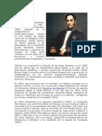 Biografia de Bolivar y Chavez