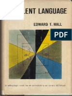 Hall Edward T the Silent Language