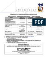 ARKIN.CO.IN - CEPT B.Architecture , SBST and Interior Design Admission 2012 nata 2012 application form and exam dates