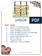 Lyrics Printable
