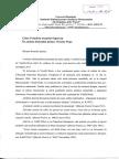 """Solicitare Institutului Naţional pentru Studierea Holocaustului din România, """"Elie Wiesel"""""""