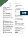 Speech Structure Template