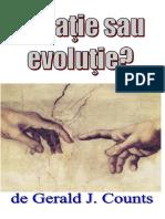 Creatie Sau Evolutie