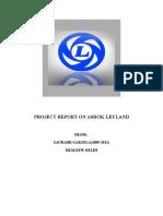 Ashok leyland production process