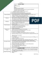 MBE Memorization Chart