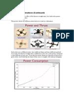 Aerial Robotics Lecture 1B_4 Design Considerations (Continued)