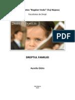 D3103 Dreptul familiei