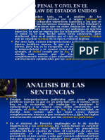 Derecho Penal y Civil en El Common Law
