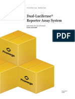 Dual Luciferase Reporter Assay System Protocol