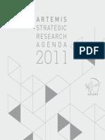 ARTEMIS Strategic Research Agenda 2011