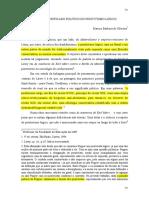 OLIVEIRA, Marcos - Sobre o Significado Político Do Positivismo Lógico