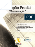 Inspeção predial Mecanização