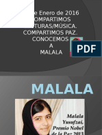 COMPARTIMOS LECTURAS/MÚSICA. MALALA