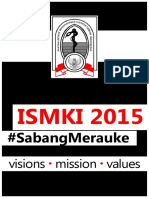 Visi Misi Values Strategies ISMKI 2015 SabangMerauke