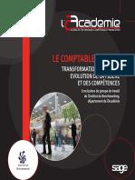 Cahier Acadmie 21 - Le Comptable de 2020 - TRANSFORMATION DU MÉTIER EVOLUTION DE LA FILIÈRE ET DES COMPÉTENCES