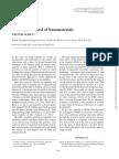 Risks and Control of Nanomaterials