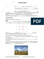 the rule of thirds student question sheet