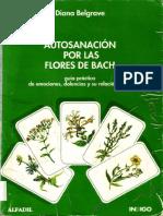 Autosanación por las flores de Bach