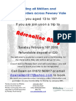 Calling All BMXers and Skateboarders Across Pewsey Vale
