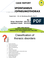 Responsi Spontan Pneumothorax