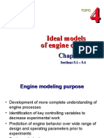 4 Ideal Models of Engine Cycles