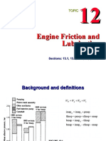 11 Engine Friction and Lubrication