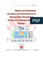 Configuration of SDM in Managed Services Project Case