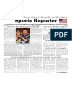 January 20 - 26, 2016  Sports Reporter