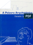 A Palavra Arquitetônica - Renato Leão Rego