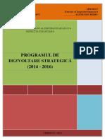 Ro 1326 Programul de Dezvoltare Strategica (2014 2016) a Inspectiei Financiare