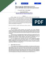 Kinerja Paralel Pengurutan Data Menggunakan Metode Shellsort Dan Quicksort