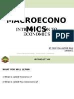 1. Introduction to Macroeconomics