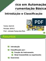 Instrumentação Industrial - Introdução