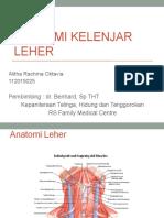 Anatomi Kelenjar Leher - Alitha.pptx