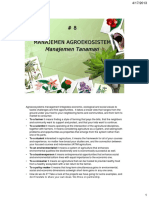 8 Manajemen Agroekosistem Tanaman