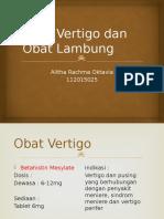 Presentasi Obat Vertigo dan Lambung - Alitha.pptx
